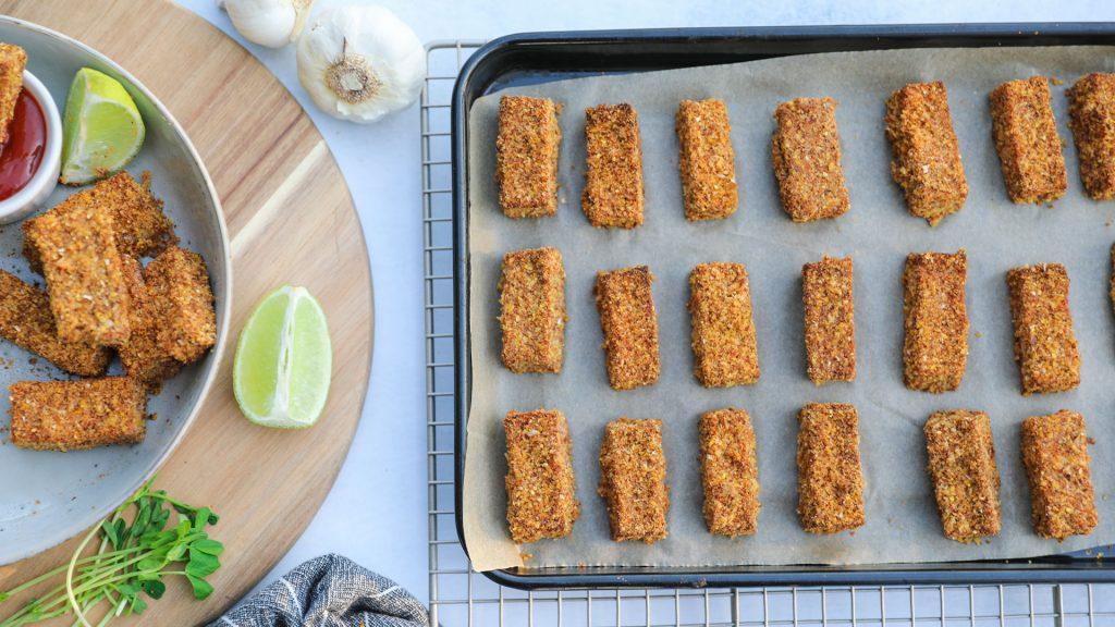 Nuggets crujientes de tofu-3