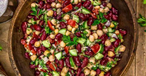 Ensalada libanesa de frijoles