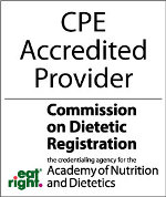 Dietitian and CDR Accredited Provider