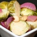 Maple Hazelnut Brussels Sprouts