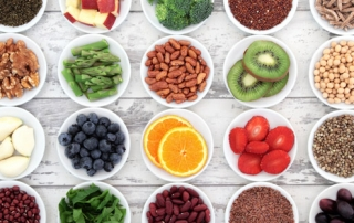 legumes fruits vegetables nuts