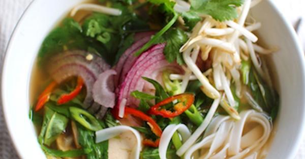 Vegan Pho - Vietnamese Noodle Soup - Recipe - Nutrition Studies