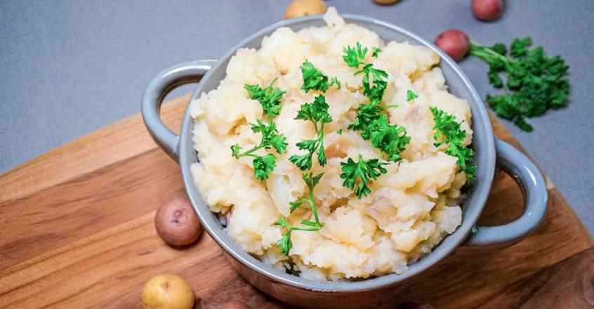 Garlic Mashed Potatoes Recipe Nutrition Studies