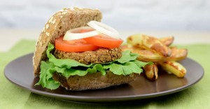 Quick & Easy Lentil Burgers Recipe