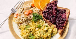 Green Pepper Tofu Scramble Recipe