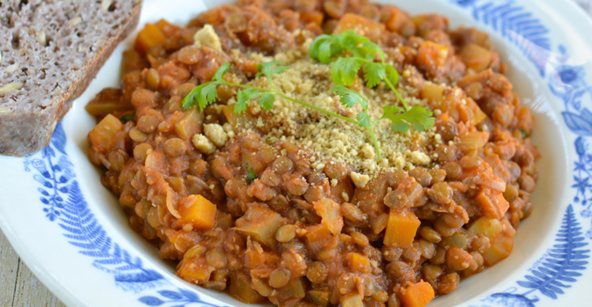 Lentil and Tomato Stew - Recipe - Nutrition Studies