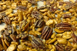Spicy Cashews and Pecans Recipe