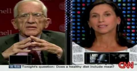 T. Colin Campbell on Larry King Live
