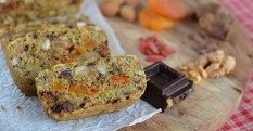 Nutty Ginger Christmas Cake - Plant-Based Recipe