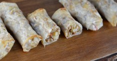 Potato & Barley Rice Paper Rolls Recipe