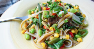 Baby Bok Choy & Vegetable Stir Fry Recipe