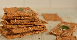 Buckwheat Crackers With Sunflower Seeds Recipe