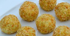 No Sugar Added Oil-Free Coconut Bites Recipe