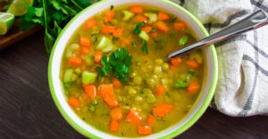 Pressure Cooker Split Pea Soup Recipe