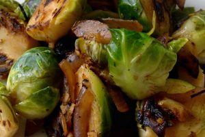 Caramelized Smoky Brussels Sprouts Recipe