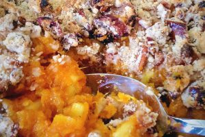 Sweet Potato Pineapple Casserole With Pecan Streusel Recipe