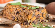 Lentil Nut Loaf With Sweet Potato