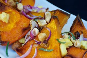 Roasted Red Kuri Squash and Pineapple Recipe