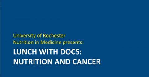 Lunch with Docs: Nutrition and Cancer - Thomas Campbell, MD