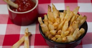 Baked Salt and Vinegar Fries Recipe