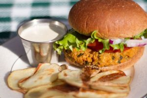 Sweet Peanut Burgers Recipe