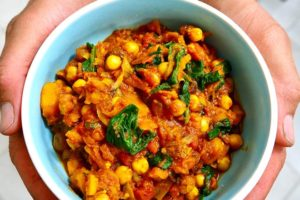 Sweet Squash and Garbanzo Curry Recipe