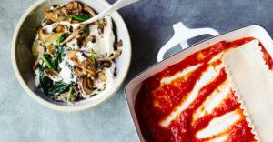 Gluten-Free Creamy Mushroom Lasagna Recipe