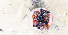 Strawberry Chia Seed Bowl